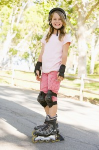 girl rollerblades1 199x300 How to Inspire Kids to Embrace Exercise