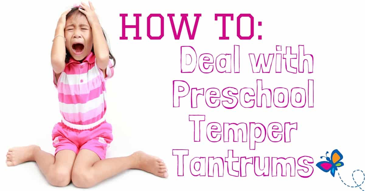 How to Deal with Preschool Temper Tantrums