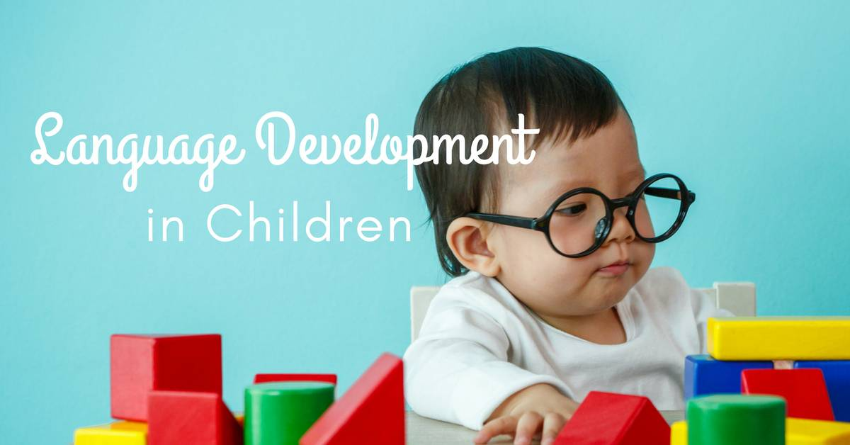 child language development Wondering when your child will say her first word find out more about your baby's language development now.