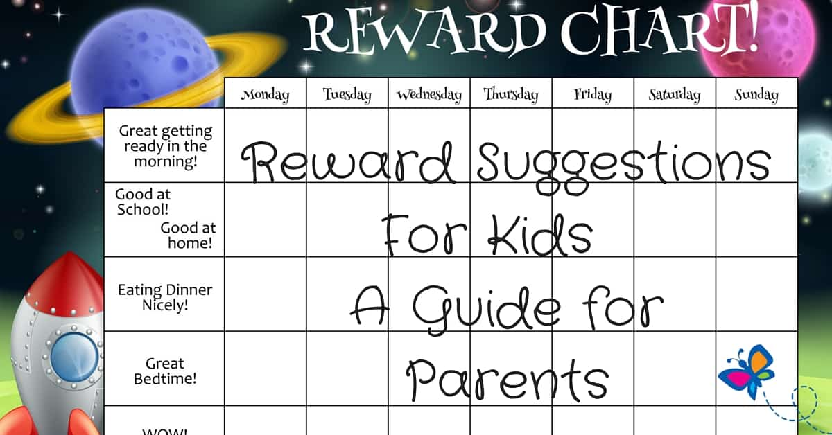 Reward Suggestions For Kids A Guide for