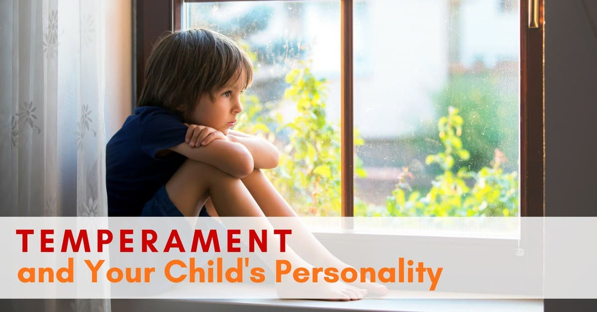 Your Childs Perception Of Danger >> Temperament And Your Child S Personality
