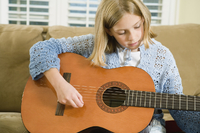 Children Music (girl guitar)