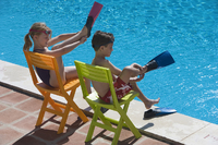 children poolside fins.s200x2001 Water Safety From Infancy to Adolescence