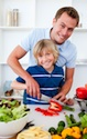 dad boy cooking Super Foods for Kids and How to Serve Them