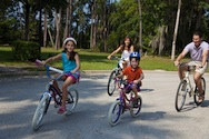 family bicycling How to Shape Up Your Family This Summer