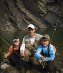 family fishing Water Sports   A Great Way to Get the Whole Family Active This Summer