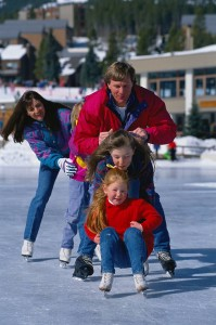 family ice skating 199x300 Ice Skating – Great Family Fun
