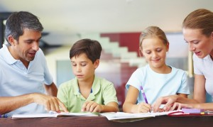 family study time 300x1791 Helping Your Children Thrive in School