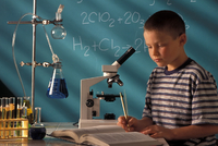 Boy Microscope (science)