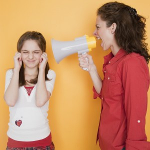 mom girl bullhorn 300x300 Because Just Isnt the Answer