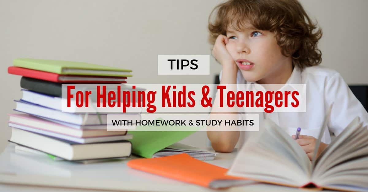 Ways to Help Your Elementary School Student With Homework     aploon