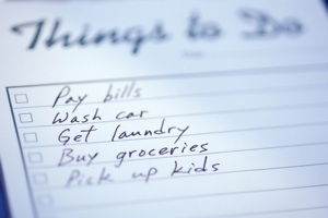 to do list Secrets of an Organized Mom