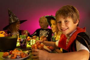 children halloween party 300x200 Fun and Scary Halloween Party Food