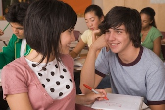 "teen boy girl classroom Is your Teen Involved in a ""Mine Field Relationship?"""