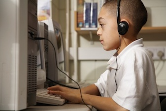 child computer headphones Attention and Concentration Problems