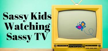 Sassy Kids Watching Sassy TV