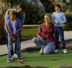 miniature golf family Miniature Golf   Fun for the Whole Family