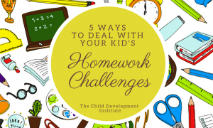 5 Ways to Deal with Your Kids' Homework Challenges