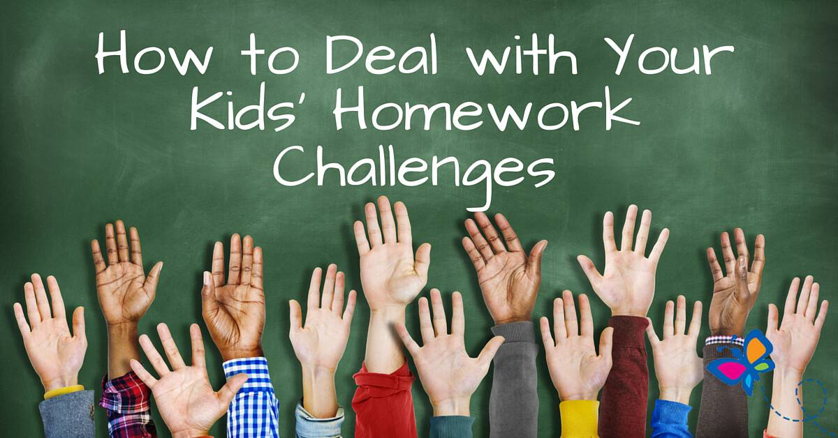 How to Deal with Your Kids' Homework Challenges