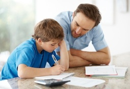 father son homework Homework – How to Get Your Kids to Take Responsibility