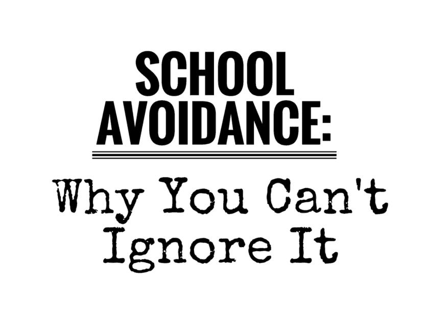 school avoidance-