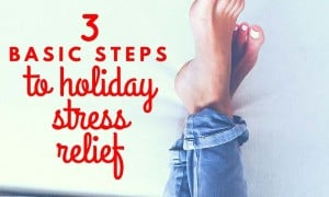 3 Basic Steps to Holiday Stress Relief Blog