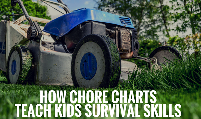 How Chore Charts Teach Kids Survival Skills Featured Image