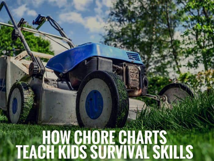 How Chore Charts Teach Kids Survival Skills