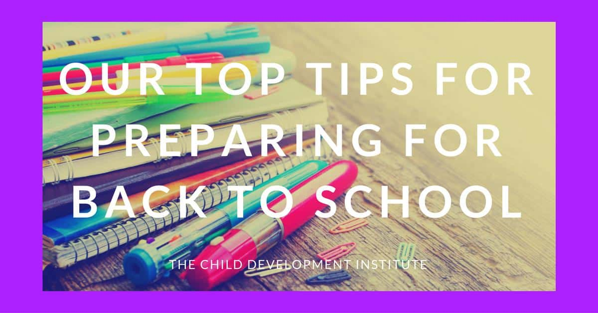 Our Top Tips for Preparing for Back to School (1)