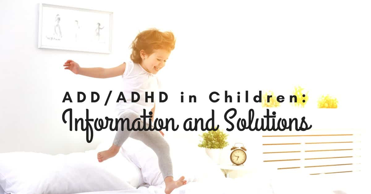 Study Mistreatment For Tots With Adhd >> Add Adhd In Children Information Solutions
