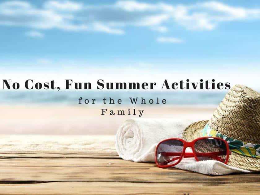 No Cost, Fun Summer Activities