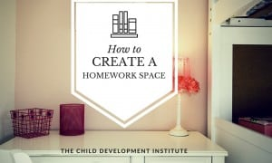 How to Create a Homework Space (1)