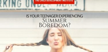 Is Your Teenager Experiencing Summer Boredom-