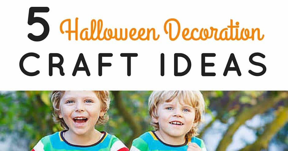 5 Halloween Decoration Craft Ideas Blog