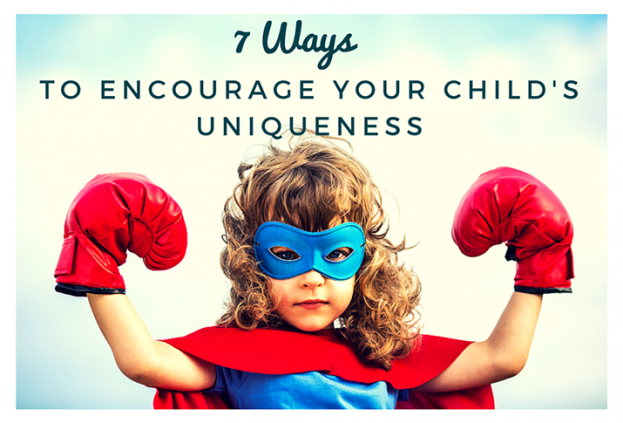 7 Ways to Encourage Your Child's Uniqueness 715x486
