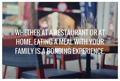 Bonding Family Meal