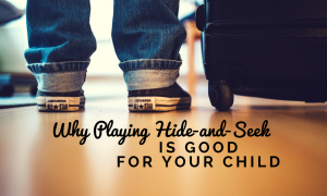 Why Playing Hide-and-Seek (1)
