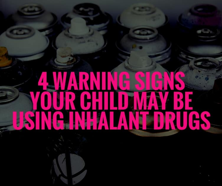 4 Warning Signs Your Child May Be Using Inhalant Drugs