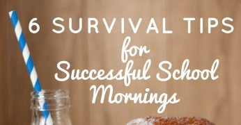 6 Survival Tips for Successful School Mornings Featured Image
