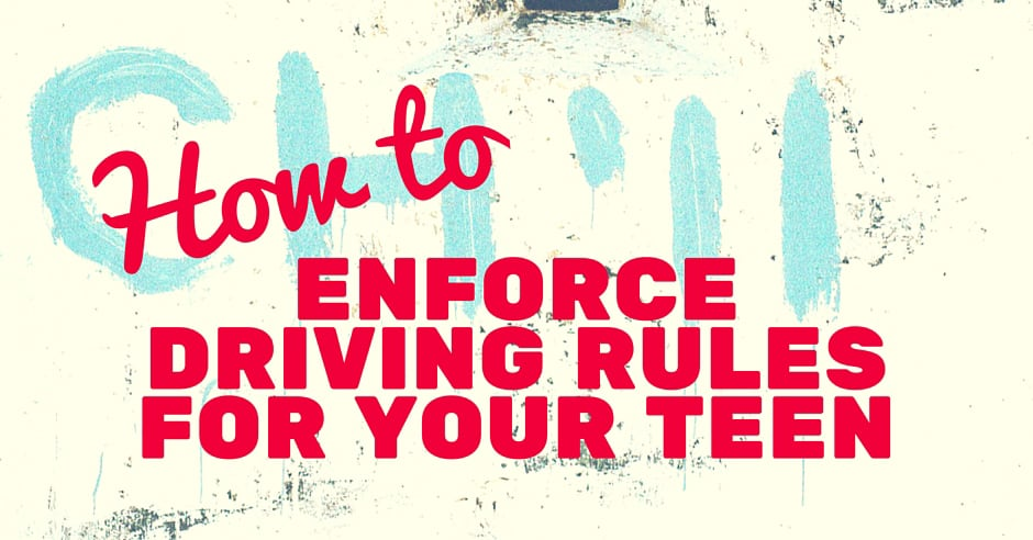 How to Enfore Driving Rules for Your Teens Blog