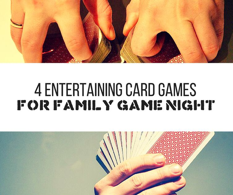 4 entertaining card games
