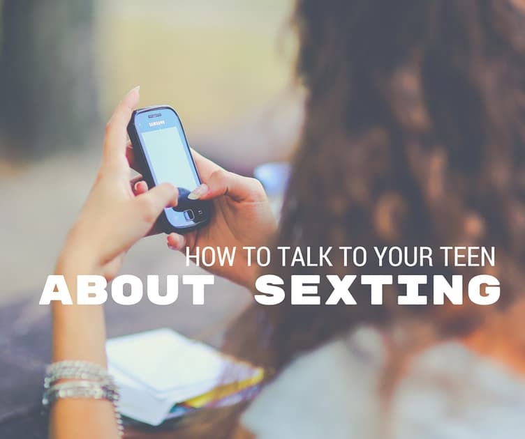 How to talk to your teenage son about sexting