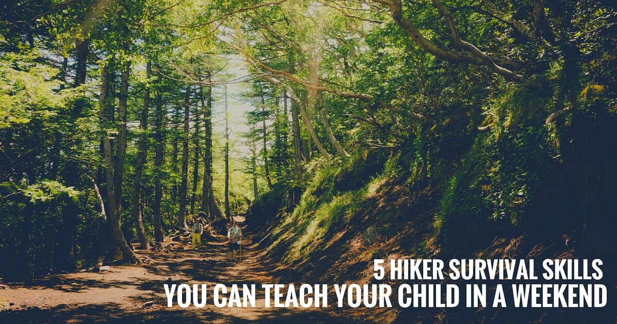 5 Hiker Survival Skills