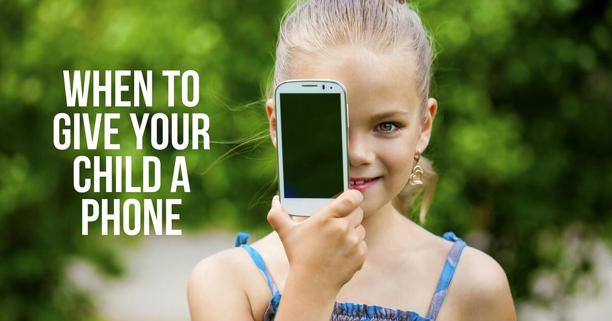 When to Give Your Child a Phpne