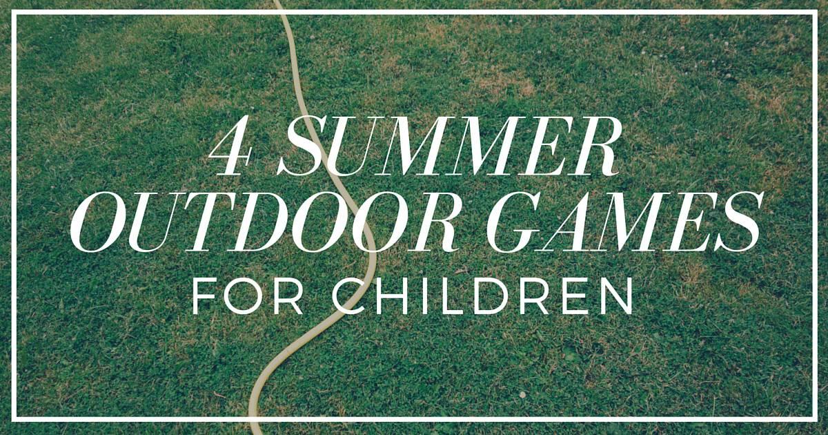 4 Summer Outdoor Games for Children (4)