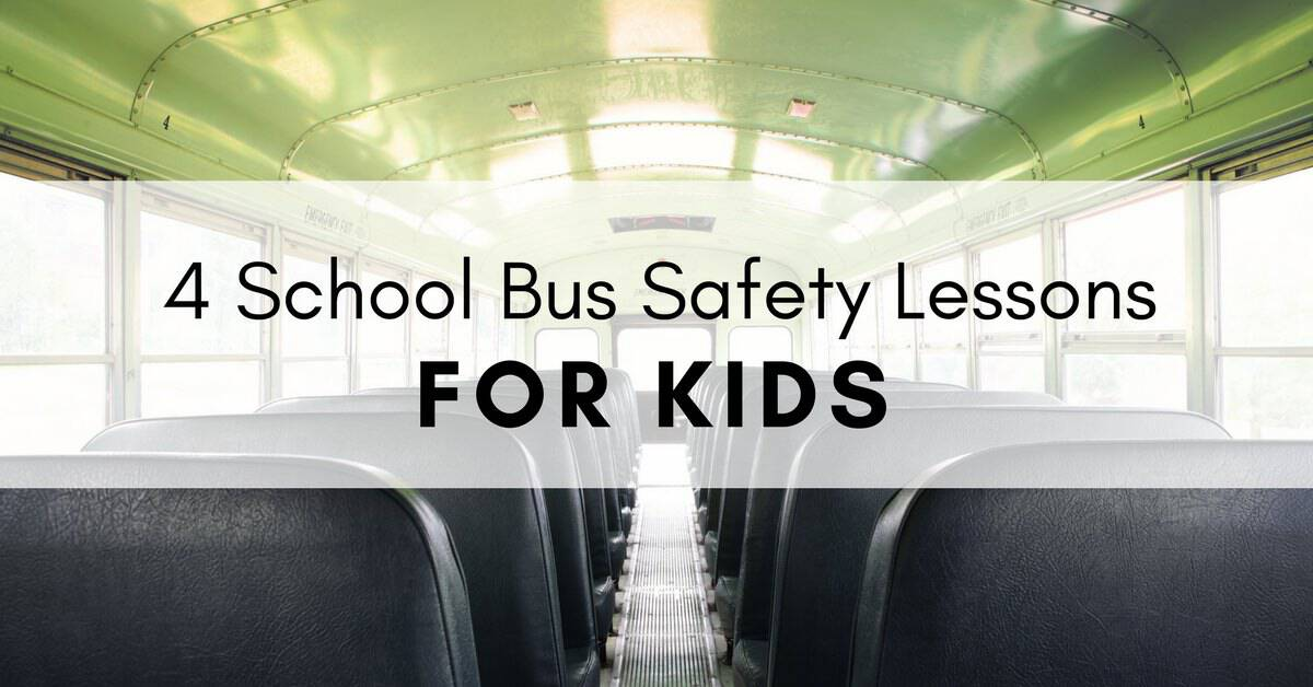 4 School Bus Safety Lessons for Kids_mini
